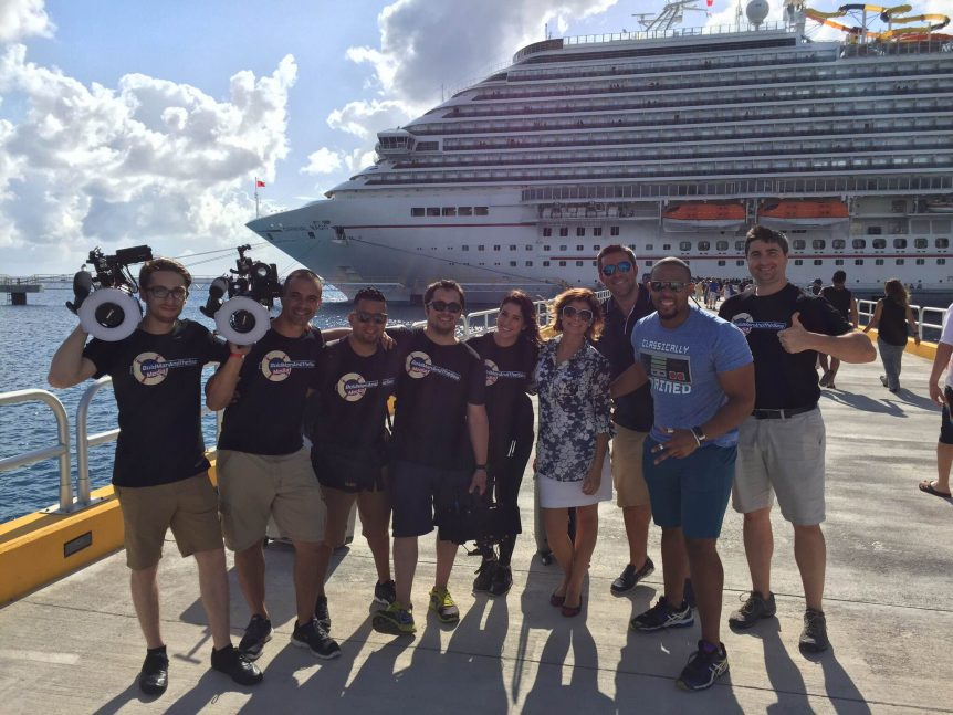 bold man and the sea media take cozumel by storm!